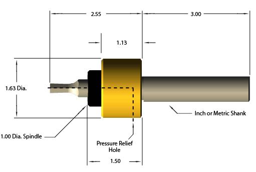 Rotary Broach Tool Holder Diagram
