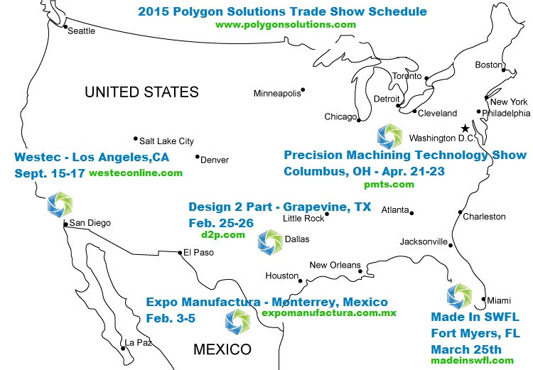 Polygon Solutions 2015 Trade Shows